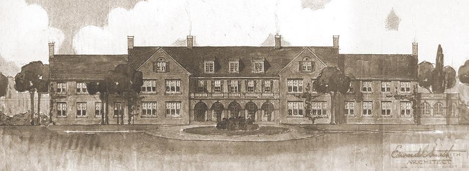 vintage illustration of the Children's Home