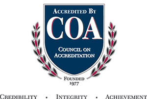 Logo of Council on Accreditation