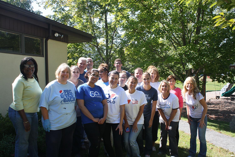 photo of Pepsi volunteers