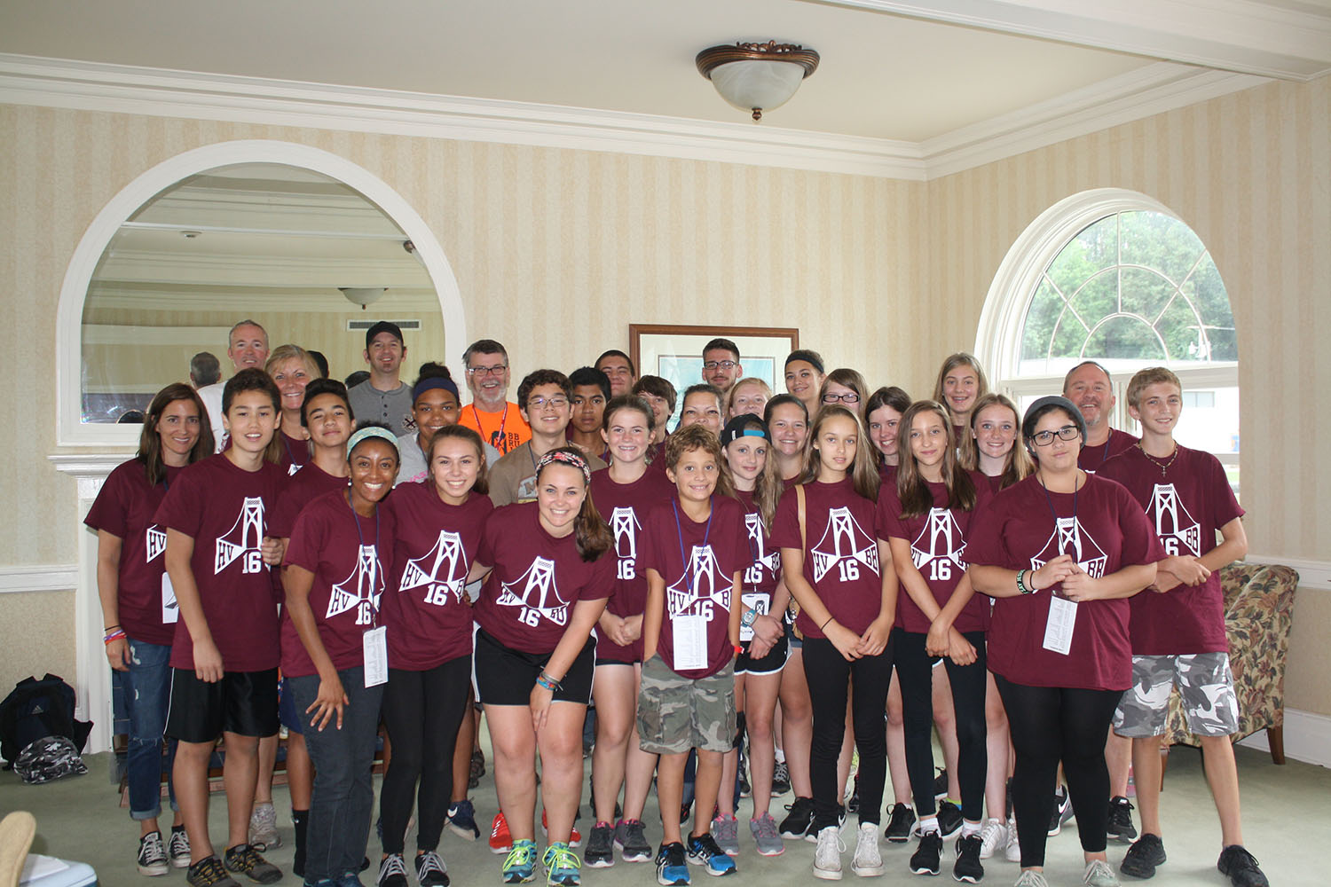 photo of Hudson Valley youth volunteers