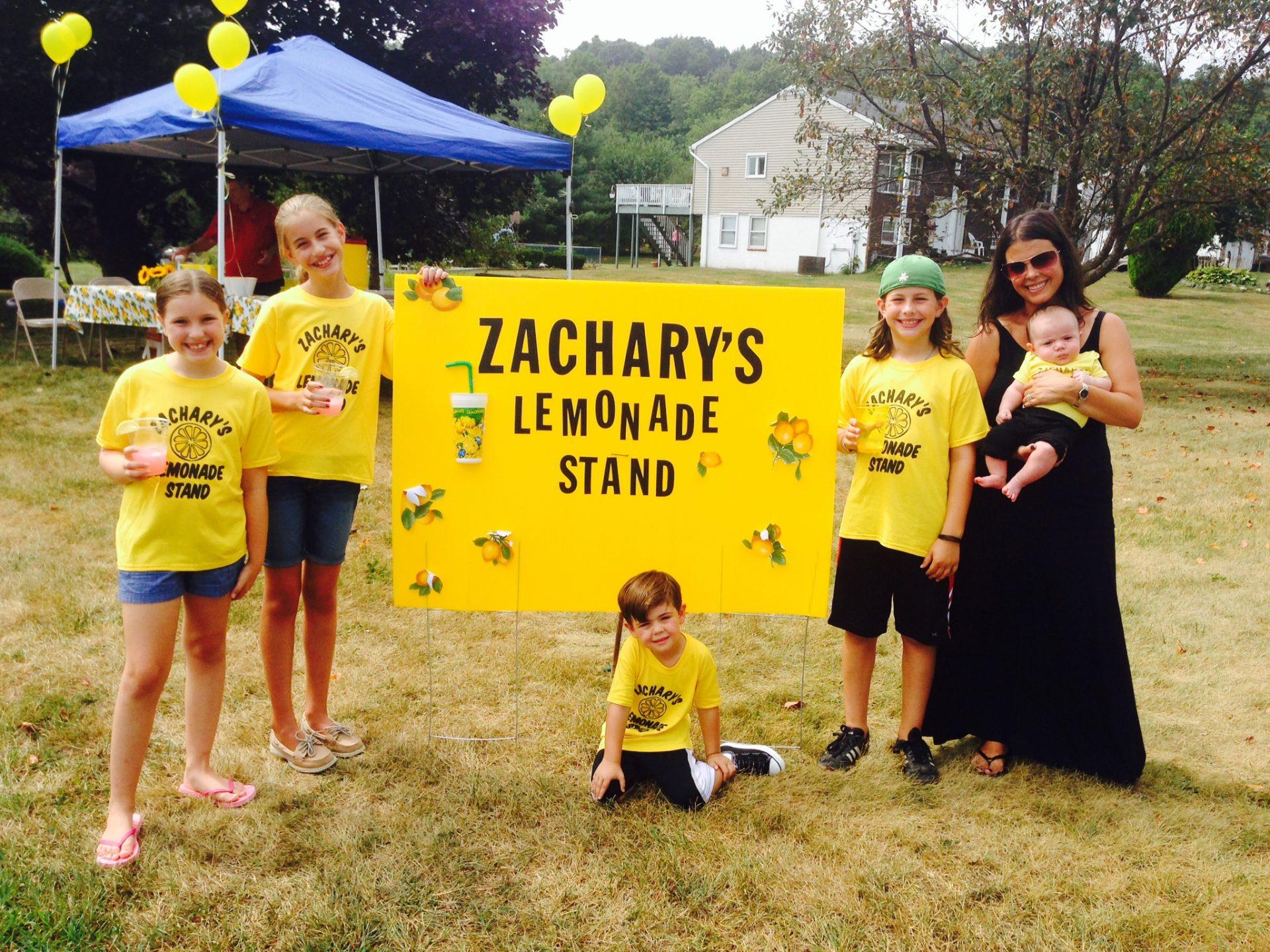 photo of Zachary's Lemonade stand