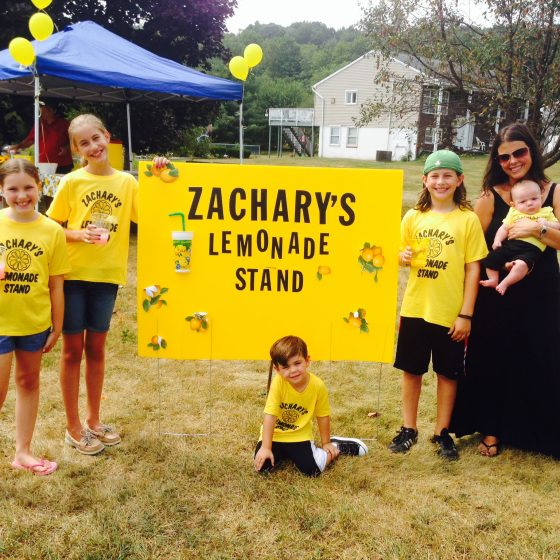 photo of Zachary's Lemonade stand
